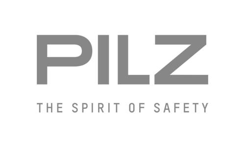 Pilz logo Meldgaard Electric A/S